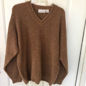 Vintage Sweater Womens XL Merino Wool Chunky soft